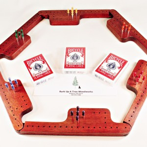 Pegs & Jokers Game Set - Bloodwood