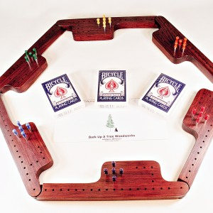 Pegs & Jokers Game Set - Bubinga